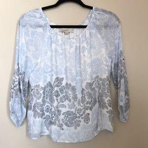 Loft off the shoulder blouse size XS